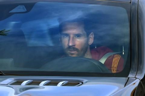 Messi Akhirnya Mulai Latihan Lagi