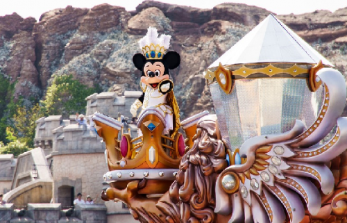 Disneyland, Tokyo, Jepang. (Foto: Ilustrasi. Dok. Pixabay.com)