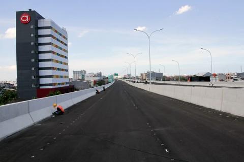 Proyek Tol Layang Makassar Ditargetkan Selesai Akhir Tahun
