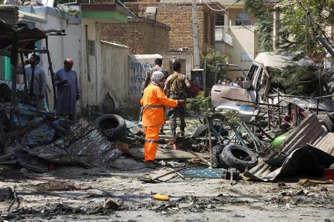 Wapres Afghanistan Lolos dari Serangan Bom di Kabul
