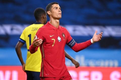 Komentar Cristiano Ronaldo Usai Cetak Gol ke-100 untuk Timnas Portugal