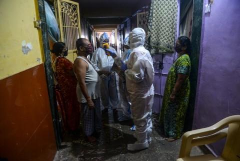 India Catat Lonjakan Infeksi Harian Covid-19 Hingga 95.735 Kasus