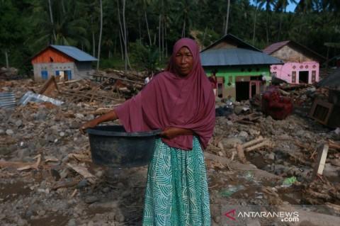 10 Rumah Hanyut Imbas Banjir Bandang di Bone Bolango