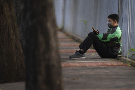 Gojek dan Grab Tunggu Aturan Main PSBB Total