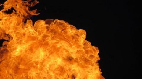 Pasar Cipluk Penjaringan Terbakar