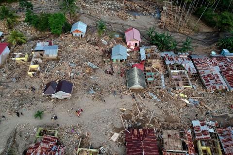 Ratusan Rumah Rusak Diterjang Banjir Bandang di Bone Bolango
