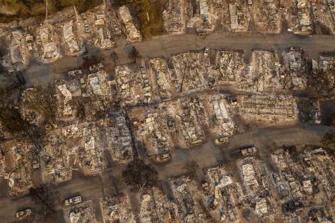 Kebakaran Hutan Lahap Lima Kota di Oregon