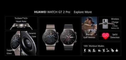 Huawei Kenalkan Watch GT 2 Pro