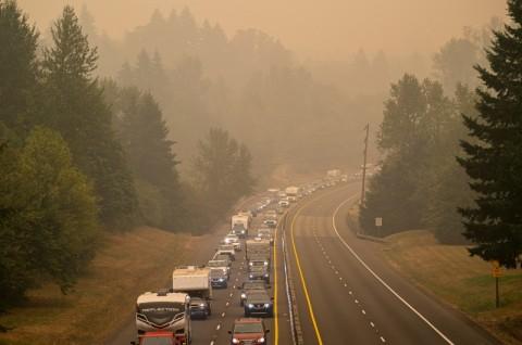 Kebakaran Hutan Mengancam, 500 Ribu Warga Oregon Dievakuasi