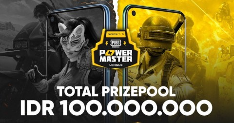 realme 7 Bakal Pamer Performa Gaming di PUBG Power Master League