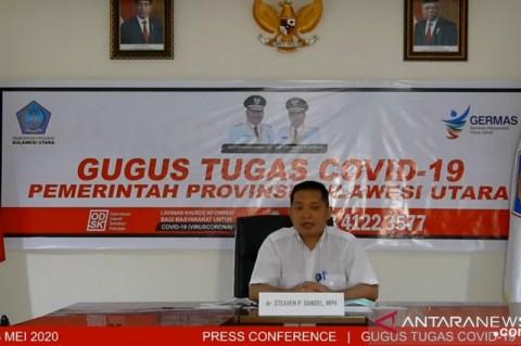 3.156 Warga Sulawesi Utara Sembuh dari Covid-19