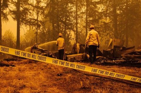 Puluhan Orang Hilang dalam Kebakaran Hutan Oregon