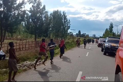 16 Orang di Jayawijaya Terkena Panah saat Terlibat Perang