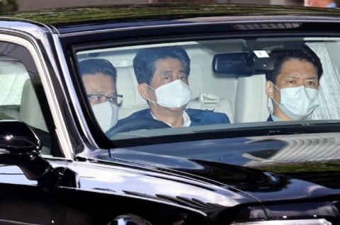 PM Jepang Shinzo Abe kembali Masuk Rumah Sakit
