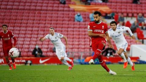 Hattrick Salah Bantu Liverpool Menangkan Drama 7 Gol Kontra Leeds