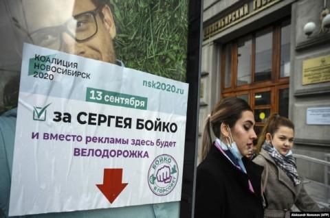 Pemilu Lokal Rusia Dibayang-bayangi Kasus Keracunan Navalny