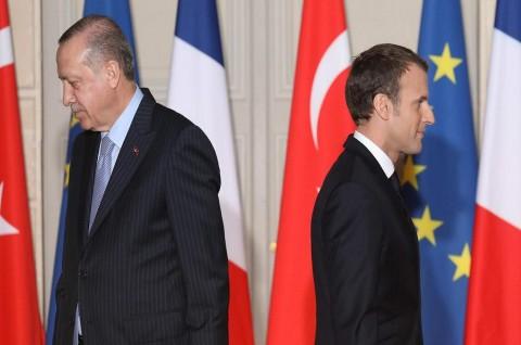Erdogan Minta Macron Tidak Cari Gara-Gara dengan Turki