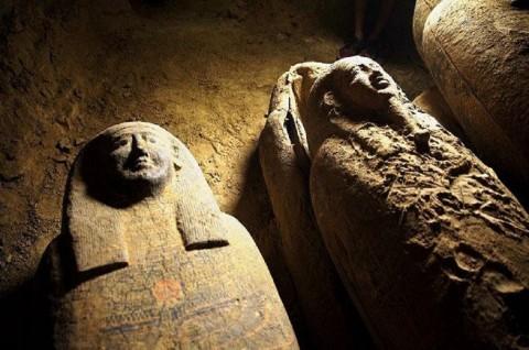 Mesir Temukan 13 Mumi Berusia Lebih dari 2.000 Tahun