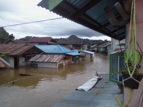 Banjir di Sokan Kalbar Merenggut Nyawa Warga