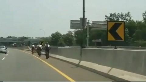 Pesepeda Masuk Tol Mulanya Menyusuri Kampung