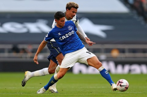 Penilaian Ancelotti atas Debut James Rodriguez di Everton
