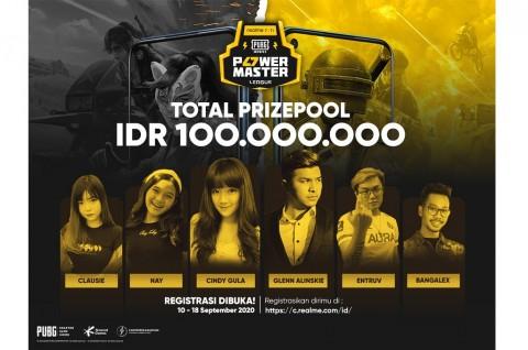 realme Gelar PUBG Power Master League, Hadiah Rp100 Juta