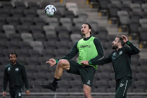 Ibrahimovic Sudah Kembali Latihan Bersama Skuat Milan