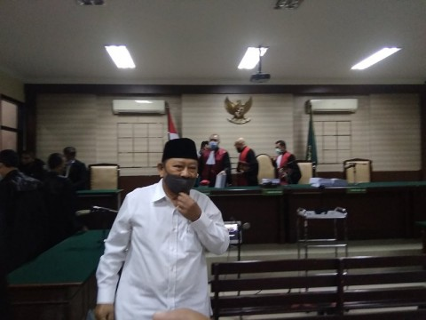 Bupati Non Aktif Sidoarjo Saiful Ilah Dituntut 4 Tahun Penjara
