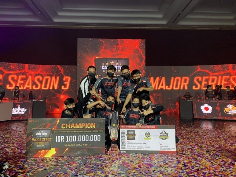 Ini 8 Juara Call of Duty Mobile Garena Major Series Season 3
