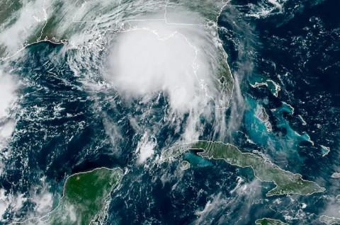 Badai Sally Menguat dan Semakin Dekati Pesisir AS