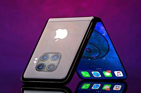 Samsung Terlibat Garap iPhone Layar Lipat