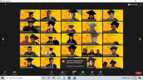 255 Mahasiswa UKDW Ikuti Wisuda Daring Perdana