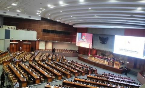 Rapat Paripurna DPR Menyesuaikan PSBB Jilid II