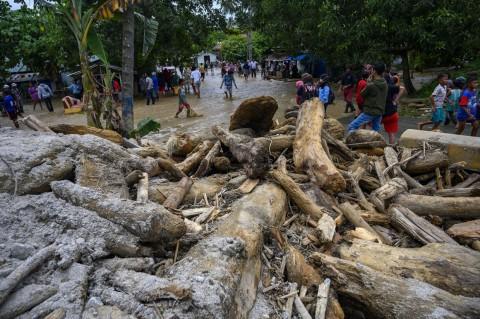 Kerusakan Akibat Banjir Bandang di Dolo Selatan Sigi