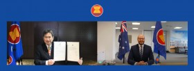 Australian Ambassador Presents Credentials to ASEAN Secretary General