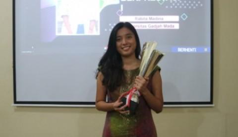 Rabita Madina, Mahasiswa Berprestasi Nasional 2020 dari UGM
