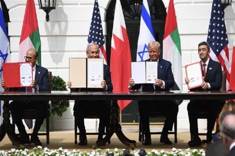 UEA dan Bahrain Resmikan Normalisasi dengan Israel