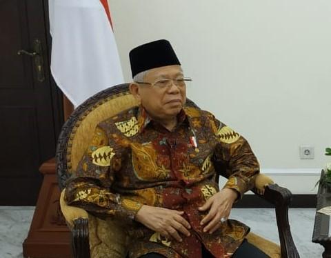 Wapres Ma'ruf Dorong Santri Tingkatkan Diplomasi Jalur Kedua
