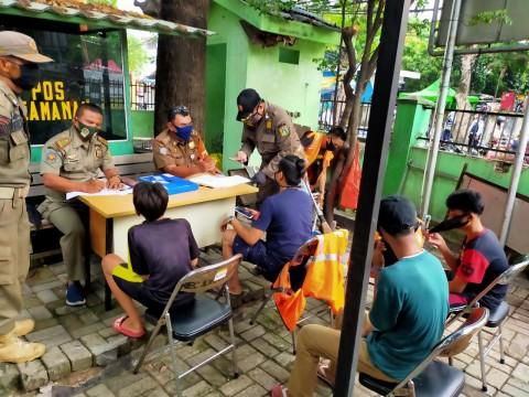 46 Warga Warga Johar Terjaring Operasi Yustisi Covid-19