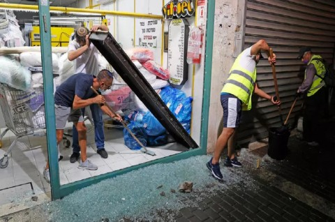 Peluncuran Roket 'Warnai' Peresmian Normalisasi Israel-UEA-Bahrain