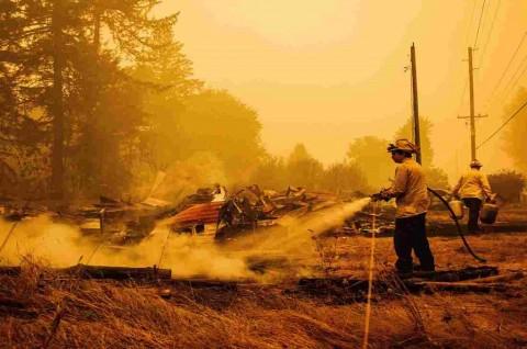 Trump Deklarasikan Bencana Besar untuk Kebakaran Oregon