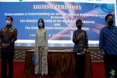 Indonesia-Unicef Fokus Hadirkan Vaksin Efektif dan Terjangkau