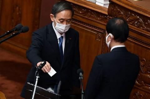 Yoshihide Suga Resmi Jadi PM Baru Jepang
