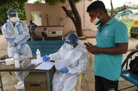 Infeksi Covid-19 di India Lewati Angka 5 Juta