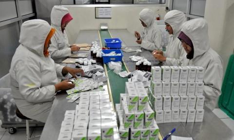 Pengembangan Industri Bahan Baku Obat Jadi Prioritas
