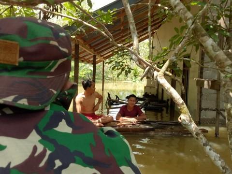 Banjir di Melawi Kalbar, 720 Jiwa Mengungsi