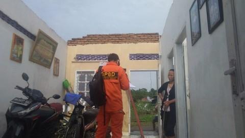 Angin Puting Beliung Rusak 56 Rumah di Deli Serdang