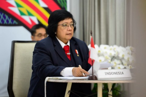 Di Hadapan G20, Menteri Siti Nurbaya Paparkan Cara Atasi Degradasi Lahan