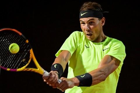 Rafael Nadal Lolos ke Babak Ketiga Italian Open