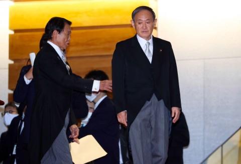 PM Suga Janji Kendalikan Covid-19 di Jepang